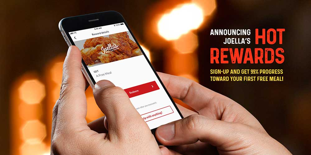 Introducing Joella's Hot Rewards