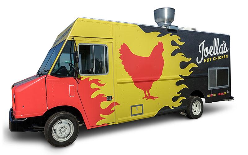 Locations Food Truck Joellas Hot Chicken
