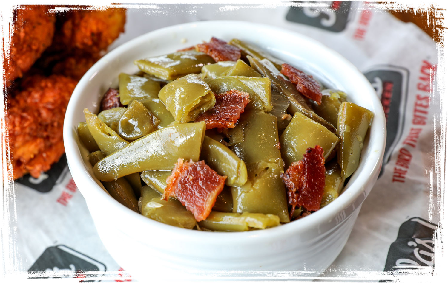 Joella's Green Beans with Bacon classic side