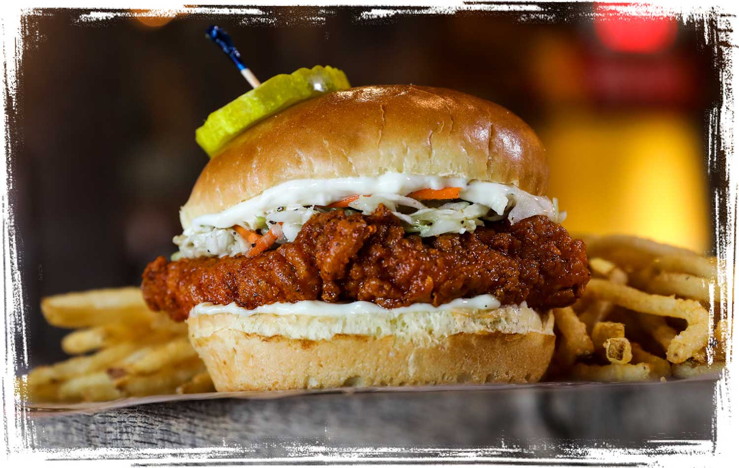Joella's Make it Dixie Classic Chicken Sandwich